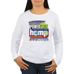 Hemp Power Plant Women's Long Sleeve T-Shirt