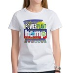Hemp Power Plant Women's T-Shirt