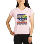 Hemp Power Plant Performance Dry T-Shirt