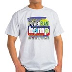 Hemp Power Plant Light T-Shirt