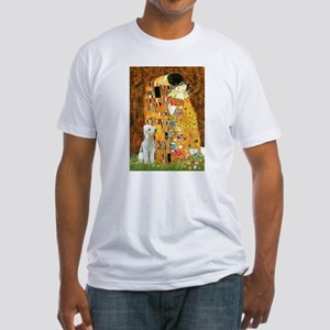 Kiss / Bedlington T Fitted T-Shirt