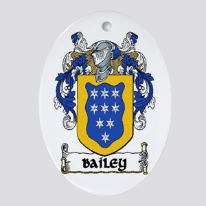 Bailey Coat of Arms Keepsake Ornament