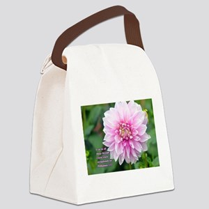 I can do all things through Chris Canvas Lunch Bag