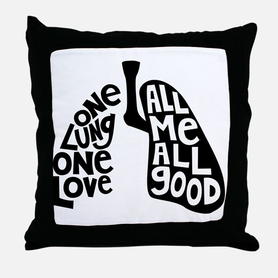 Unique Only Throw Pillow
