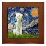 Starry / Bedlington Framed Tile