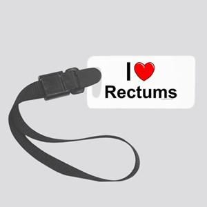 Rectums Small Luggage Tag