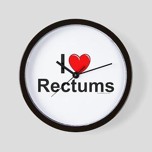 Rectums Wall Clock