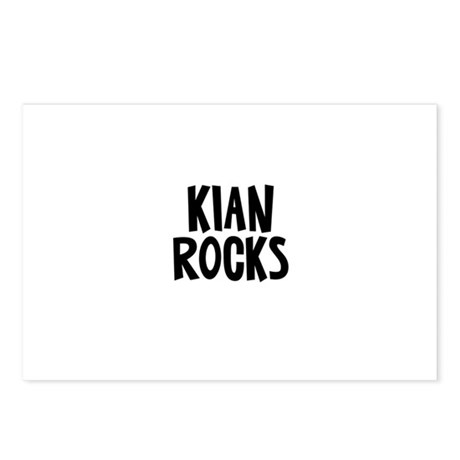 Kian Rocks Postcards (Package of 8)