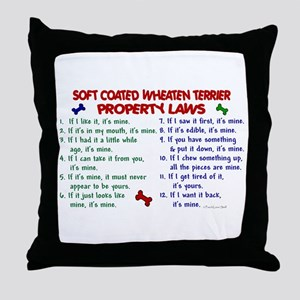 Soft Coated Wheaten Terrier Property Laws 2 Throw