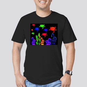 Psychedelic Turtle Migration in The Gulf S T-Shirt