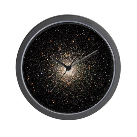 M80 Globular Cluster Wall Clock Astronomy gift
