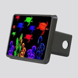 Psychedelic Turtle Migrati Rectangular Hitch Cover