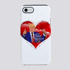 happy valentines day donald iPhone 8/7 Tough Case