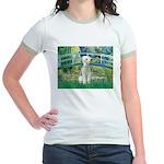 Bridge / Bedlington T Jr. Ringer T-Shirt