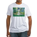 Bridge / Bedlington T Fitted T-Shirt