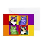 Cat Greeting Cards (Pk of 10)