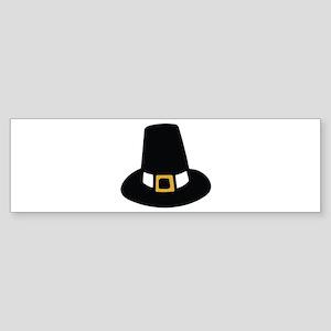 Pilgrim Hat Bumper Sticker