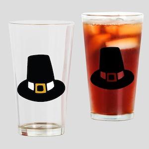 Pilgrim Hat Drinking Glass