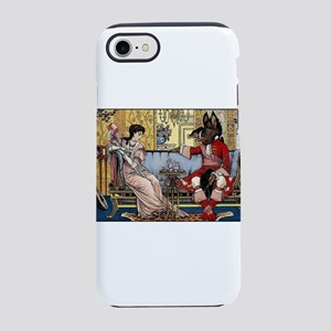 Beauty and The Beast having iPhone 8/7 Tough Case