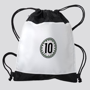 Naija Football Legend Black 10 Drawstring Bag