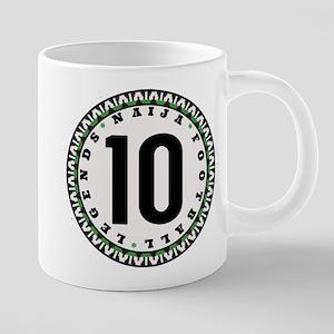 Naija Football Legend Black 10 Mugs