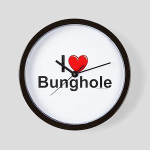 Bunghole Wall Clock
