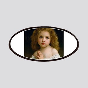 Little Girl by William Adolphe Bouguereau 18 Patch
