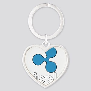 Ripple / XRP Logo Keychains