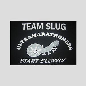 Team Slug Rectangle Magnet