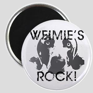 Weimie's Rock! Magnet