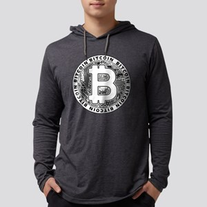 Bitcoin BTC Coin Logo Long Sleeve T-Shirt