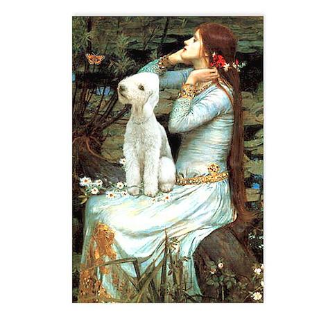 Ophelia / Bedlington T Postcards (Package of 8)