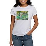 Irises /Bedlington T Women's T-Shirt