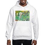 Irises /Bedlington T Hooded Sweatshirt