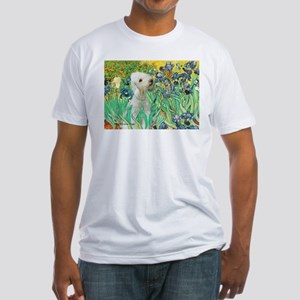 Irises /Bedlington T Fitted T-Shirt