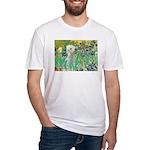 Irises /Bedlington T Fitted T-Shirt