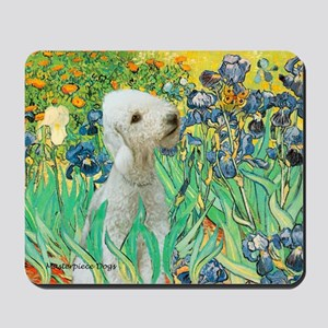 Irises /Bedlington T Mousepad