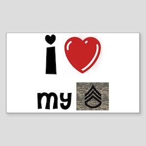 Love my SSG Rectangle Sticker