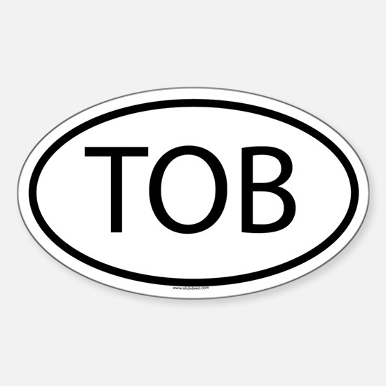 TOB Oval Decal