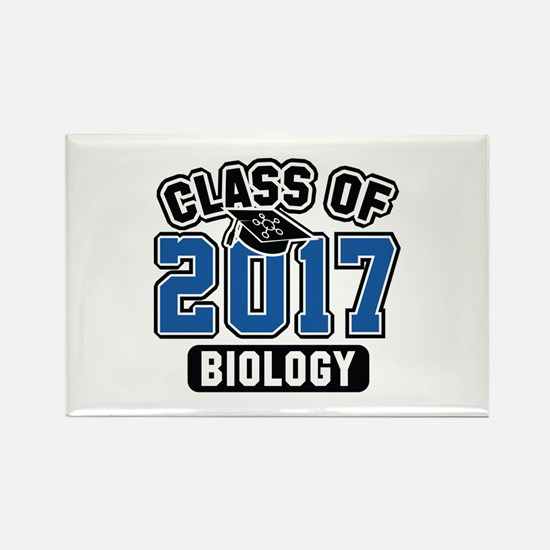 Class Of 2017 Biology Rectangle Magnet