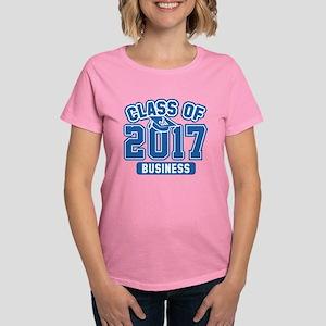 Class Of 2017 Business Women's Dark T-Shirt