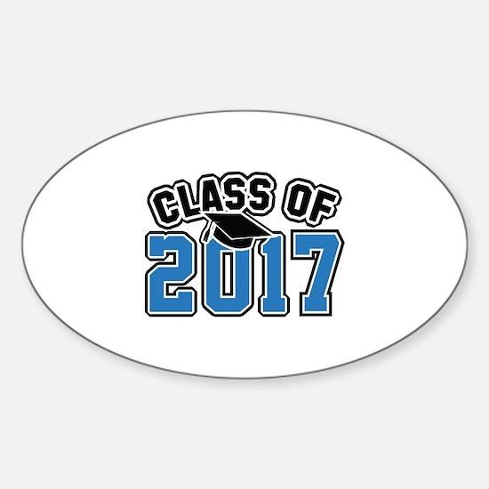 Class Of 2017 Sticker (Oval)