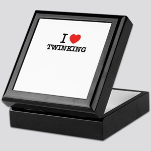 I Love TWINKING Keepsake Box