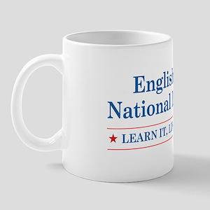 English is the National Langu Mug