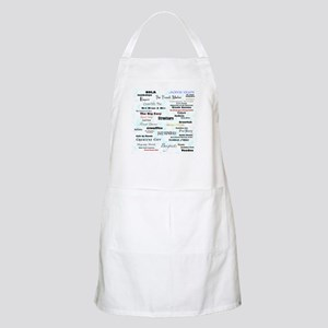 NOLA New Orleans Louisianna BBQ Apron
