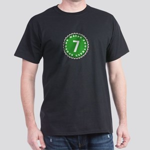 Naija Football Legends Green White 7 T-Shirt
