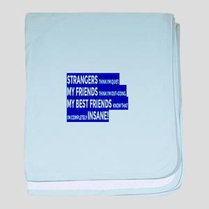 Real Friends True Friendship baby blanket