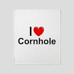 Cornhole Throw Blanket