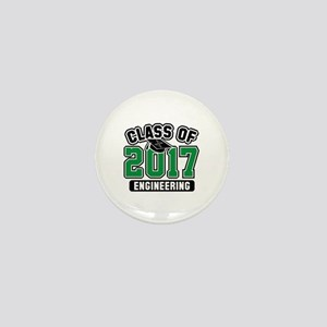 Class Of 2017 Engineering Mini Button