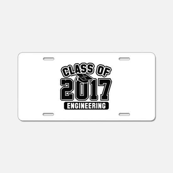 Class Of 2017 Engineering Aluminum License Plate